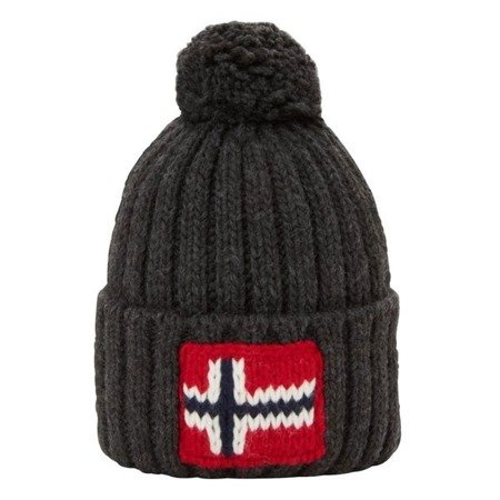 Zimowa czapka Napapijri  Semiury 2 Dark Grey